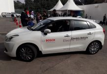 Bosch electric vehicle