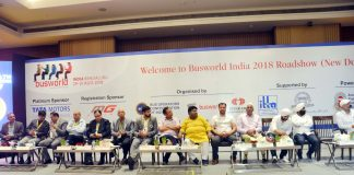 BusWorld india Road Show at New Delhi
