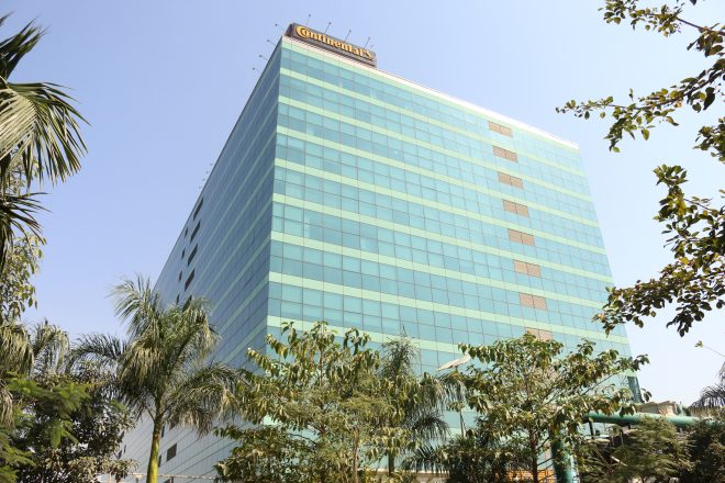 Continental's tech center in Bangalore