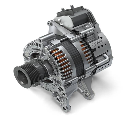 48V Boost Recuperation Machine