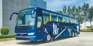 Volvo India bus