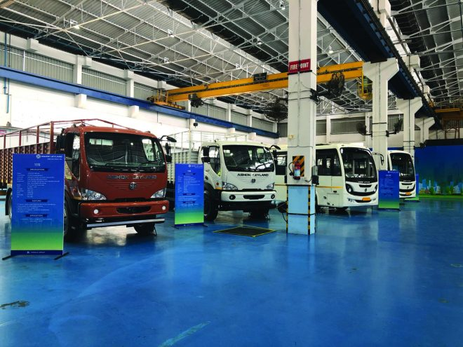 Ashok Leyland showcases BS-VI